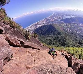Pedra da Gávea, Carrasqueira vista de cima