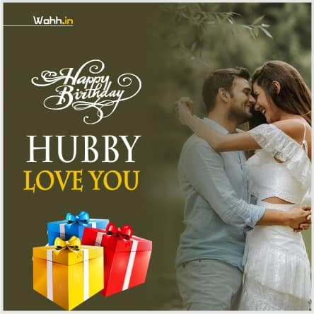 Husband Birthday Messages Images In Hindi