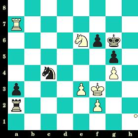 Les Blancs jouent et matent en 2 coups - Hikaru Nakamura vs David Paravyan, Saint-Pétersbourg, 2018