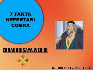 Fakta Nefertari Cobra One Piece