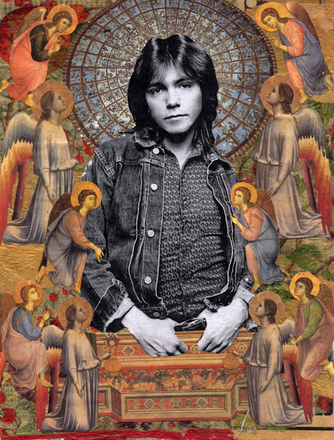 Celebrity Icon collage -- David Cassidy
