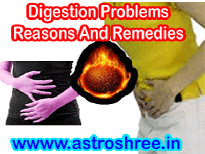 how to treat digestion problem in astrology