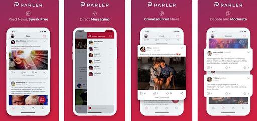 تنزيل تطبيق parler الشبكة الاجتماعية الجديدة منافسة الفيسبوك
