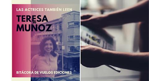 LAS ACTRICES TAMBIÉN LEEN Las historietas de siempre | Teresa Muñoz