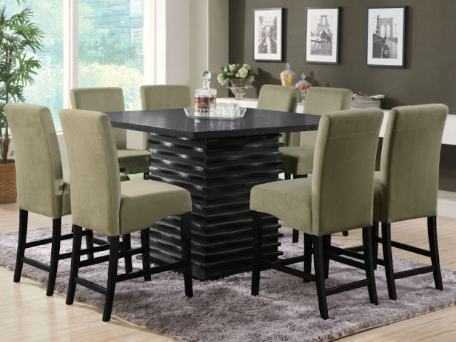 Modern Room with Round Dining Tables Modern Room with Round Dining Tables great living room best square dining table with 8 chairs throughout within 8 chair square dining table plan
