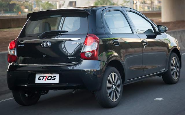 Toyota Etios 2015 Automático