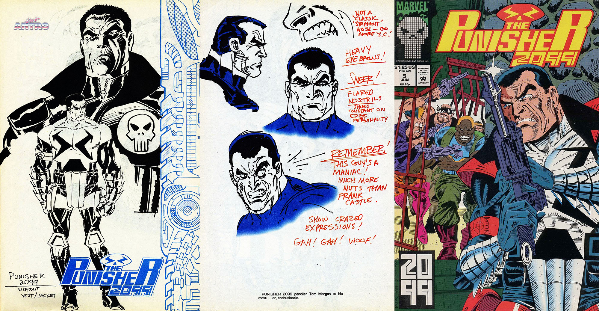 Punisher Punitore 2099
