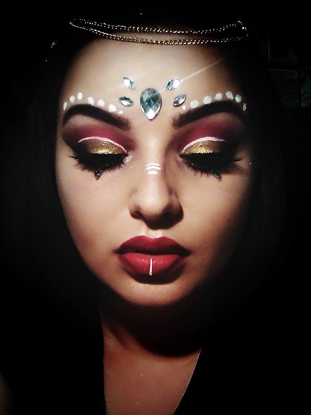 Indiesan Festival Coachella Make Up Jakich Kosmetyków Użyłam
