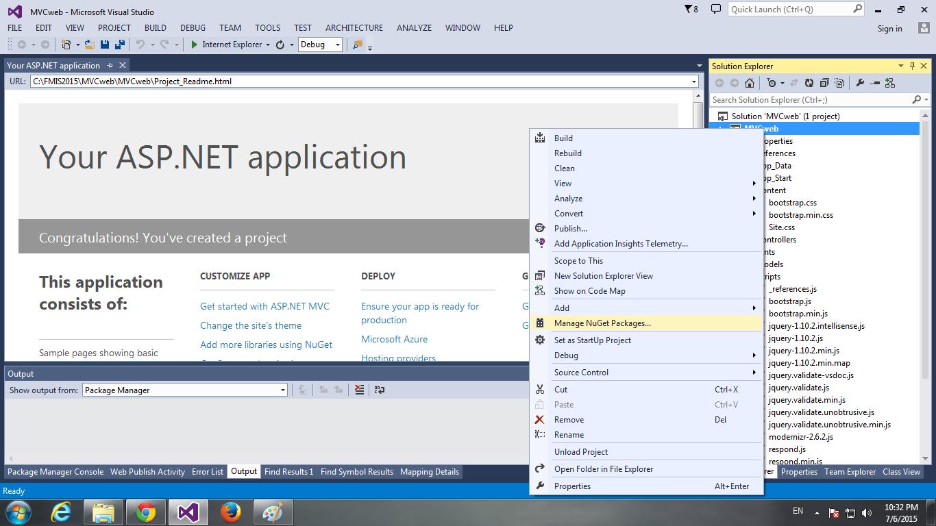 ASP NET MVC Part2: เริ่มต้นสร้างเว็บด้วย MVC with Bootstrap – CoP