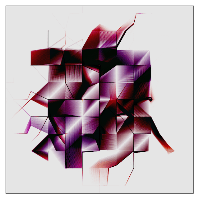 Generative art animation made with processing.