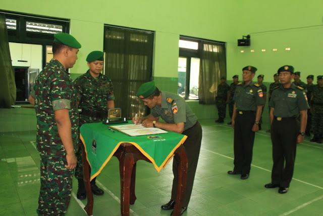 Serah Terima Jabatan Perwira Kodim Klaten
