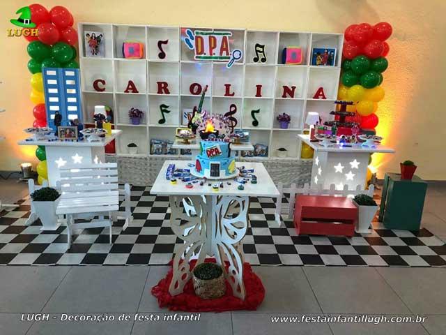 DPA - Decoração Detetives do Prédio Azul para festa de aniversário infantil - Jacarepaguá - RJ