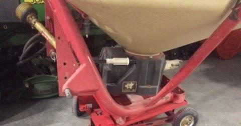 Bobs Shop Fertilizer Spreader Roller Stand