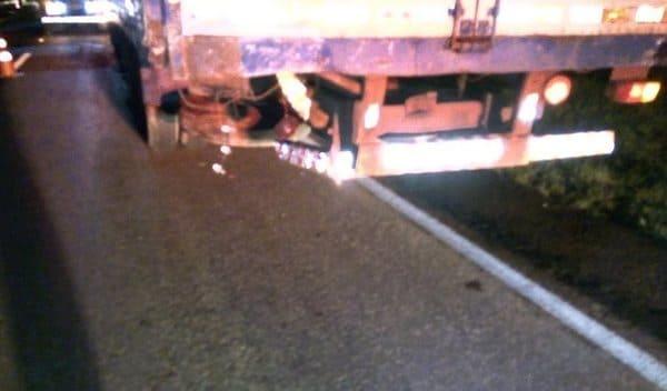 acidente com morte na br 116 em mafra motorista de