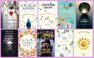 portadas de la novela contemporánea Memoria de cristal, de Cecelia Aherm