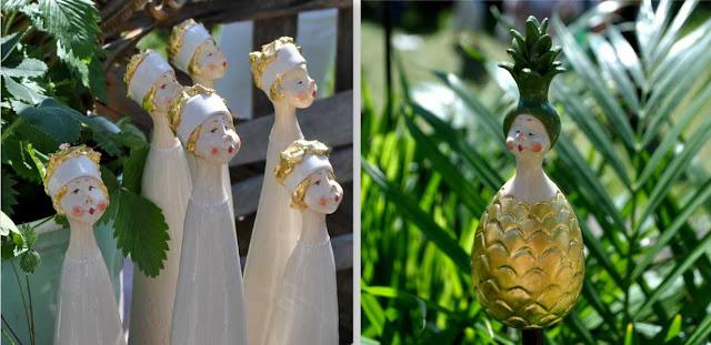 Feen und Elfen für den Garten - Ananas-Figur