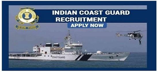 Indian Coast Guard Navik DB 01/2021 Recruitment 2020