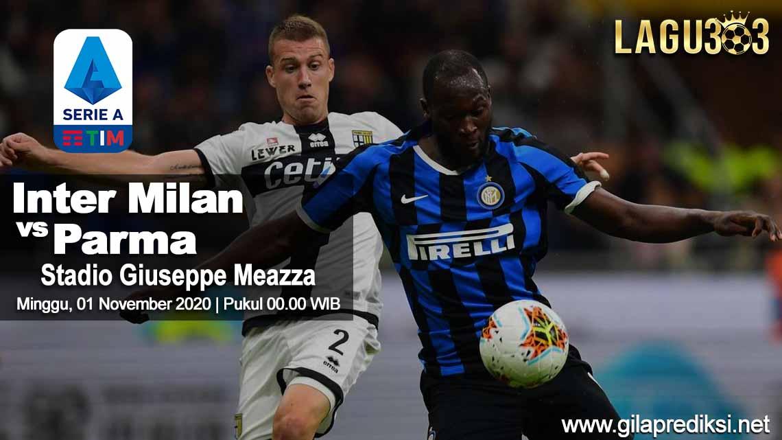Prediksi Inter Milan vs Parma 01 November 2020 pukul 00.00 WIB