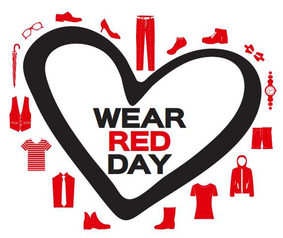 National Wear Red Day Wishes Images