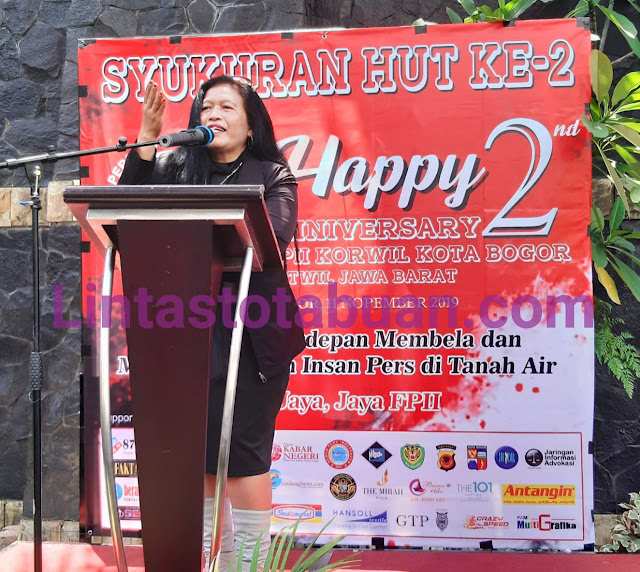 Ketua Presidium FPII, Kasihhati : Tegaskan Pengurus Setwil dan Korwil se-indonesia Jalankan Marwah Organisasi dan Kode Etik Jurnalis