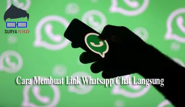 cara membuat link whatsapp wa.me