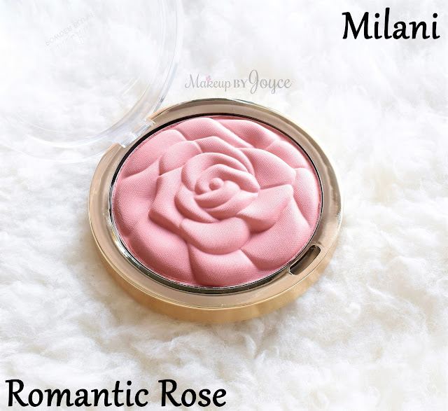 Milani Romantic Rose Powder Blush Packaging Embossed Review