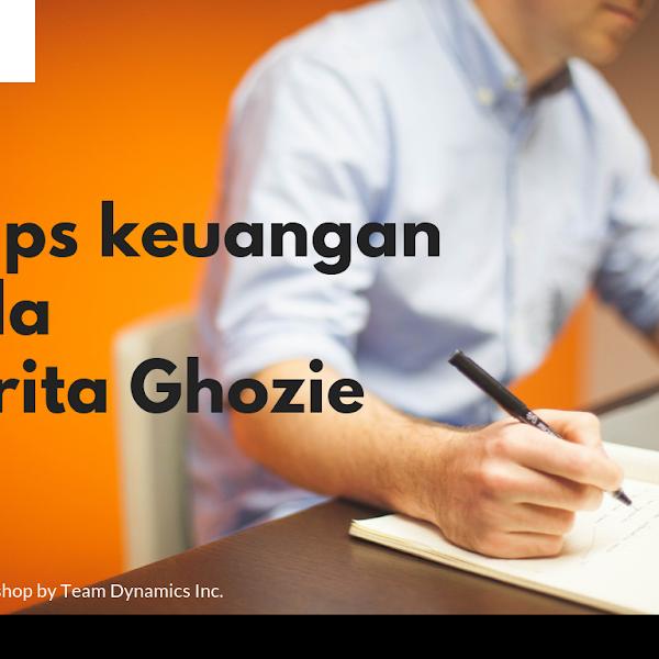 Tips keuangan ala Prita Ghozie