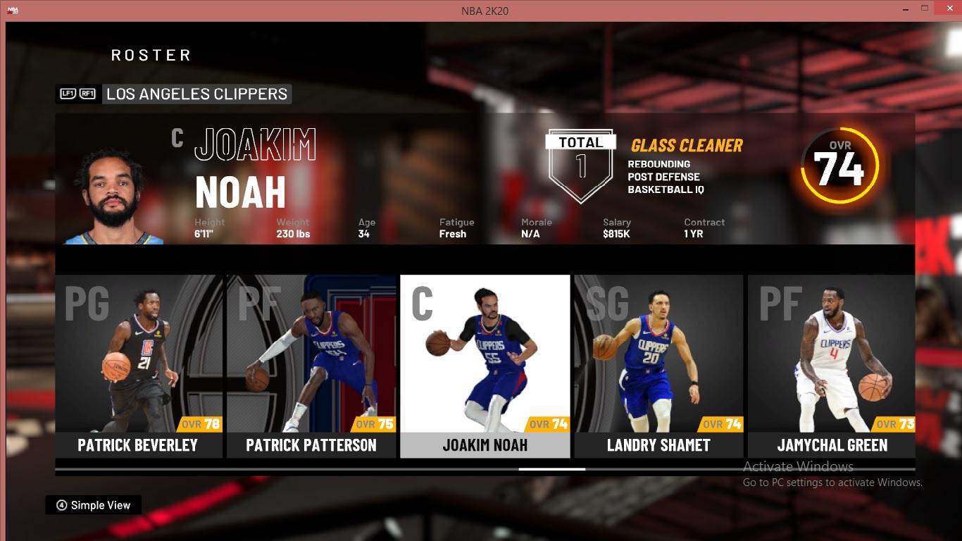 NBA 2K20 OFFICIAL ROSTER UPDATE 03.11 ...