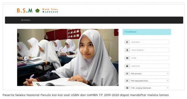 Seleksi Nasional Penulisan Kisi-kisi USBN dan UAMBN Tahun 2019