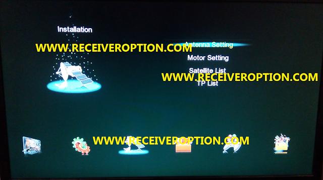 GX6605S HARDWARE VERSION HW203.00.018 POWERVU KEY NEW SOFTWARE