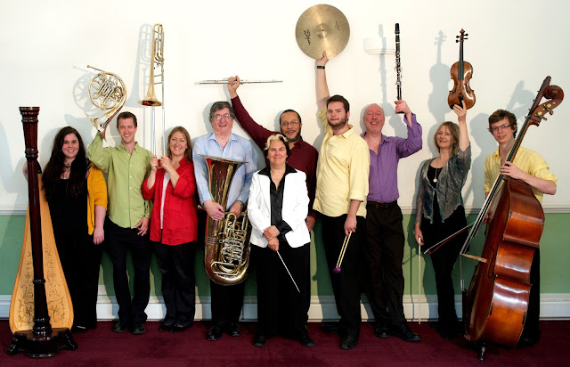 Lontano Ensemble - photo Malcolm Crowther