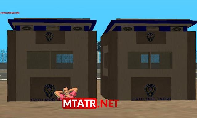 MTA SA Polis Kulübesi