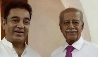 Kamal Haasan with Chandrahasan