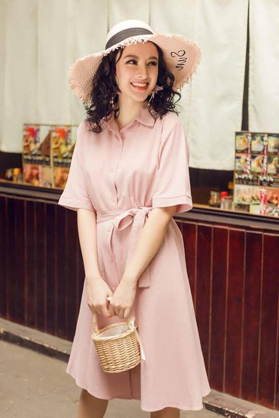 Sắc hồng được tín đồ thời trang ưa chuộng trong mùa hè -1