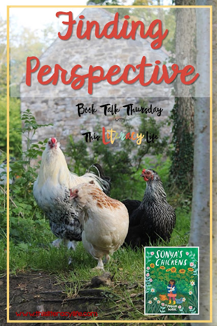 Perspective is key when understanding the full story. Sonya's Chickens is the perfect book for helping children see that there is more than one point of view.