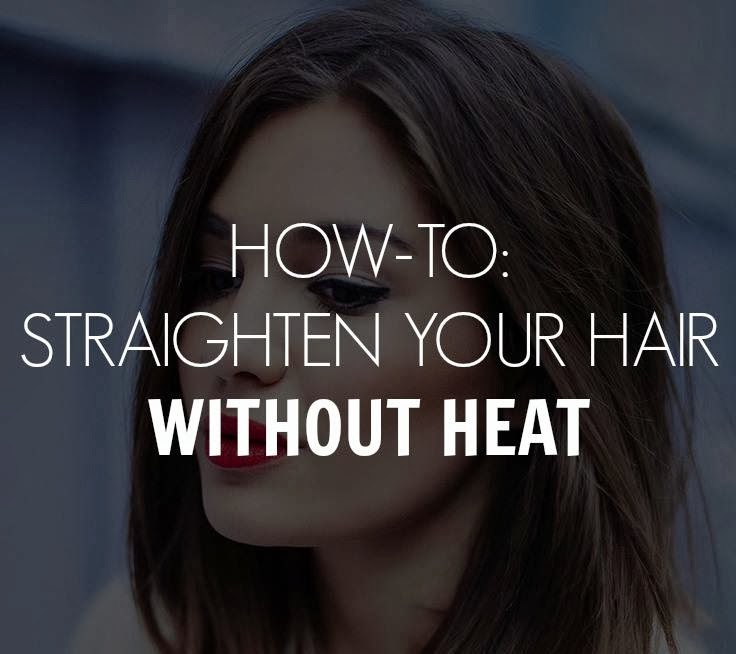 Straighten C Natural Hair Without Heat