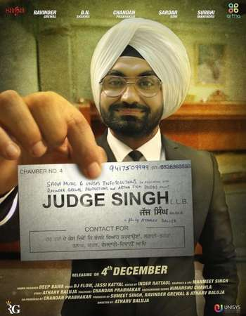 Judge Singh LLB 2015 Punjabi 140MB DVDRip HEVC Mobile ESubs Watch Online Full HD Quality PC Movie Free Download Worldfree4u