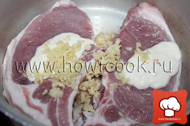 рецепт вкусной свинины в духовке пошаговые фото