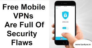 Free Mobile VPNs