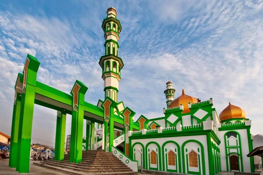 photo foto masjid raya singkawang