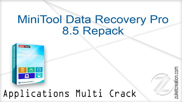 MiniTool Data Recovery Pro 8.5 Repack
