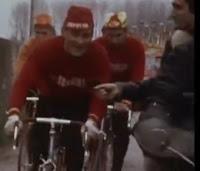 Reconnaissance du parcours de Paris-Roubaix en 1972