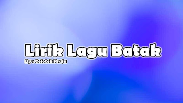 Lirik Lagu Batak Ditakko Ho Ma Rohakki  Simalolongku Do Marnida Ho  Fendi Manurung, Henry Lamiri