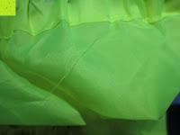 Faden: Regenschutz für Rucksäcke Rucksackschutz Ranzen Regenschutz Rucksackcover Regenüberzug Neon Sicherheitsüberzug Reflektorüberzug