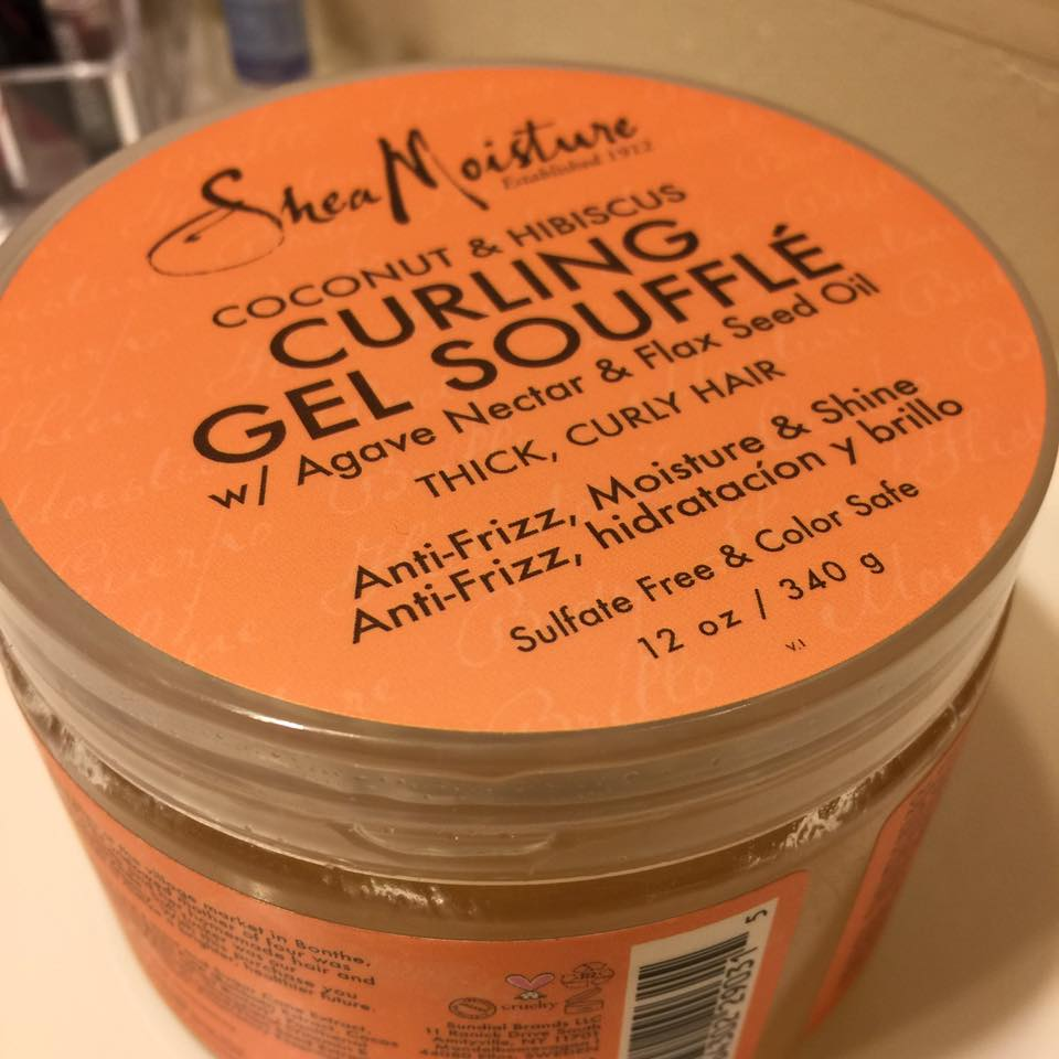 Random Product Review Curling Gel Souffle Shea