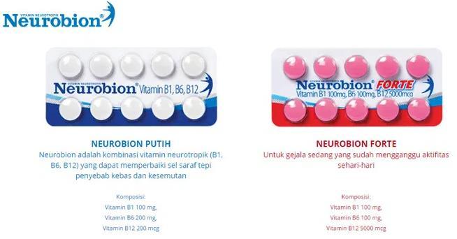 neurobion tablet