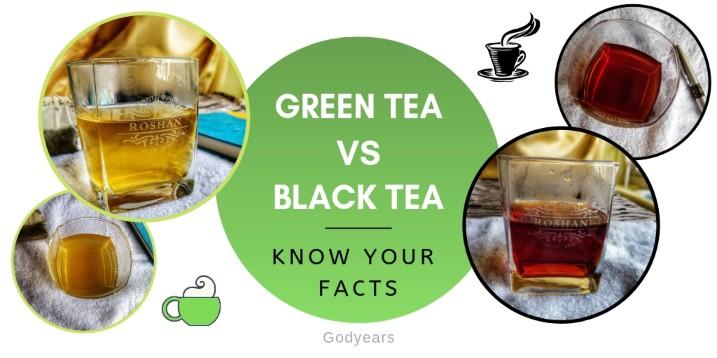 Tea Trivia - Green vs Black Tea #SuperBloggerChallenge