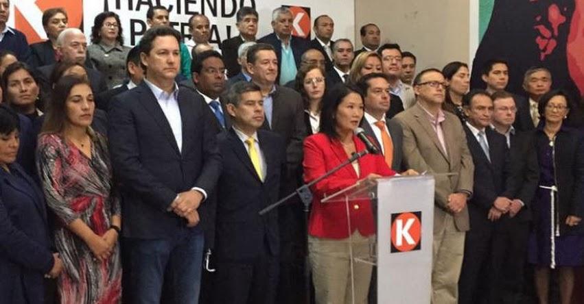 KEIKO LANZA ADVERTENCIA A LA FISCALÍA: He sido paciente, pero ya sobrepasaron el límite