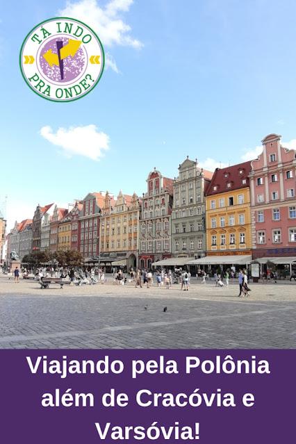 Viajando de ônibus pela Polônia