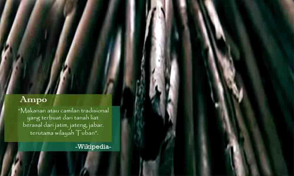 Ampo Camilan Terbuat Dari Tanah Liat Asal Kota Tuban